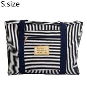 Blue stripe S