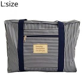 Blue stripe L