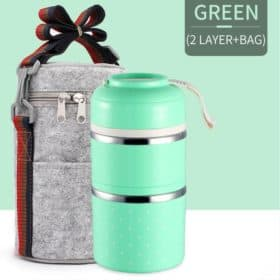 Verde - 02 Compartimentos Vedados+Bag