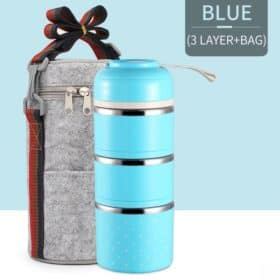 azul - 03 Compartimentos Vedados+Bag